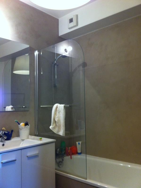 claire dognin, peinture décorative: salle de bain en enduit - Enduit Decoratif Salle De Bain